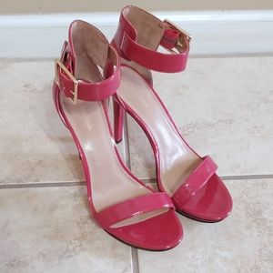 Calvin Klein Red Patent leather Heels, size 8.5